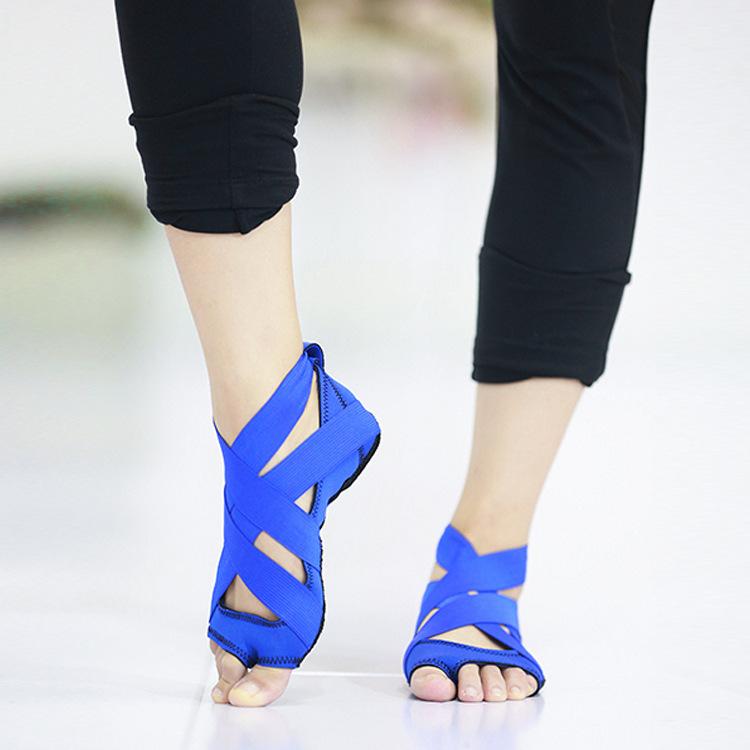Нефрит светоносный лю волны в этом же моделье бандаж йога обувной женщина силикагель анти - скольжение чулки для йоги воздуха йога обувной танец юньдаа танец обувной