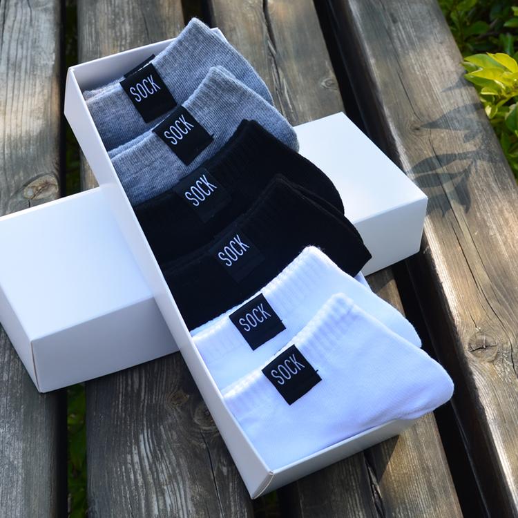 黑色襪子男生秋冬短筒襪男士低幫短襪純棉冬季防臭船襪籃球潮牌襪