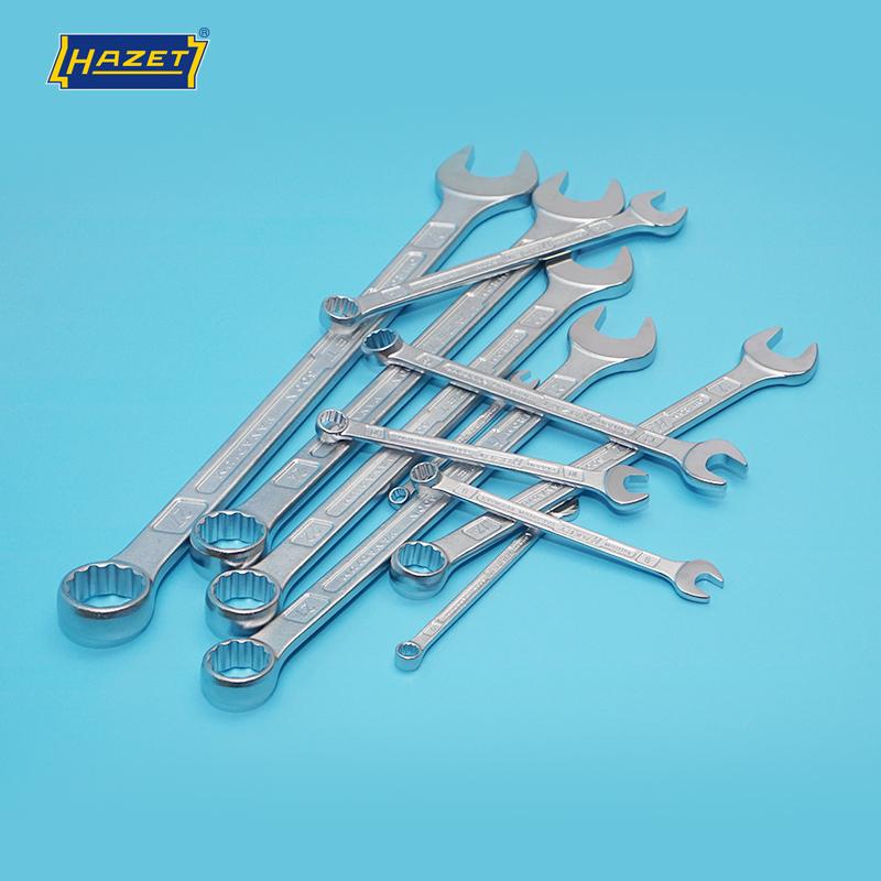德国进口HAZET五金工具公制梅花开口两用扳手梅开扳手6mm-27mm