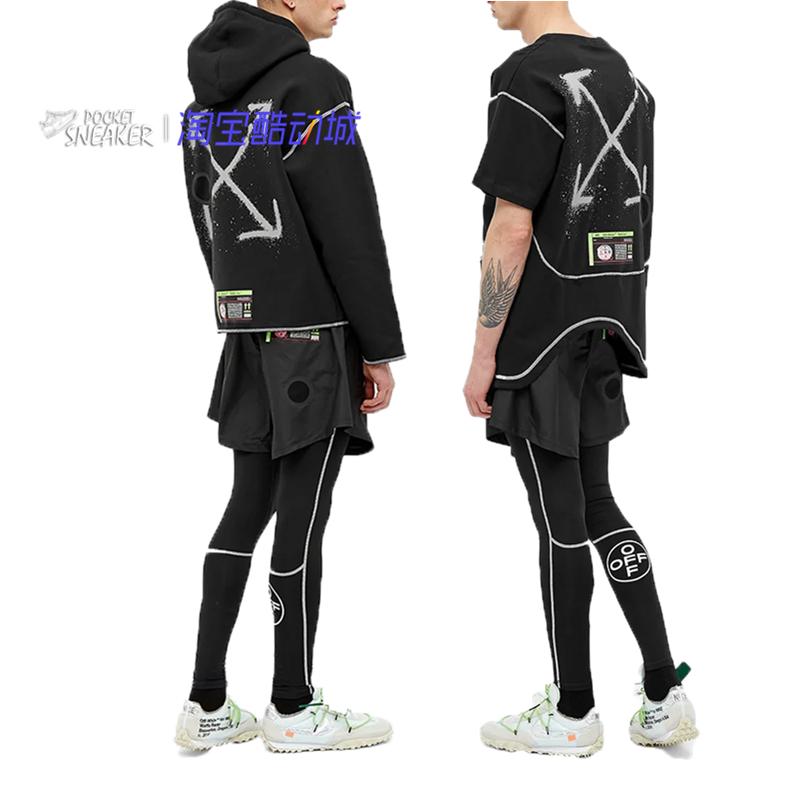 Nike x Off-White OW 聯名春季 短袖 衛衣 T恤 CN5640 CN5567-010