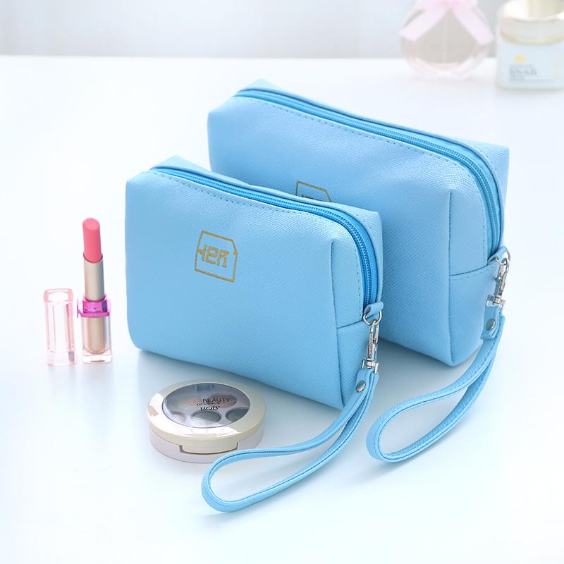 寬容化妝包韓國化妝品袋收納包女大小號可愛手包式便攜防水手拿包