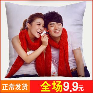 王一博学生靠枕 DIY来图定制订做照片抱枕创意明星枕头被子肖战