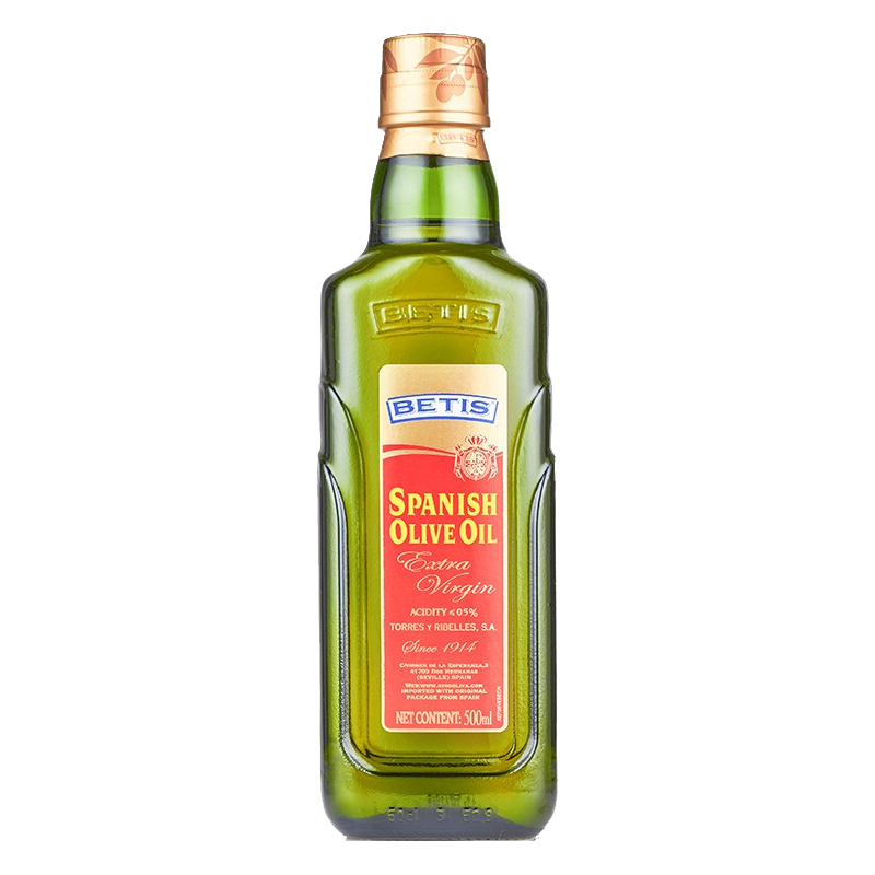 750ml bottle of Betis extra virgin olive oil imported from Spain