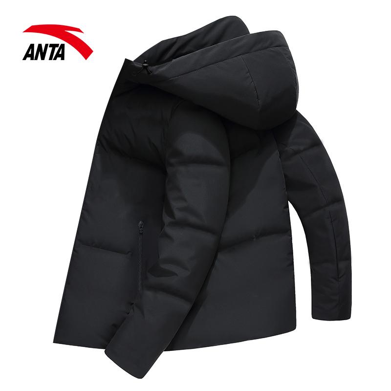 安踏羽绒服男士外套冬季2019新款加厚保暖官网品牌正品运动男装