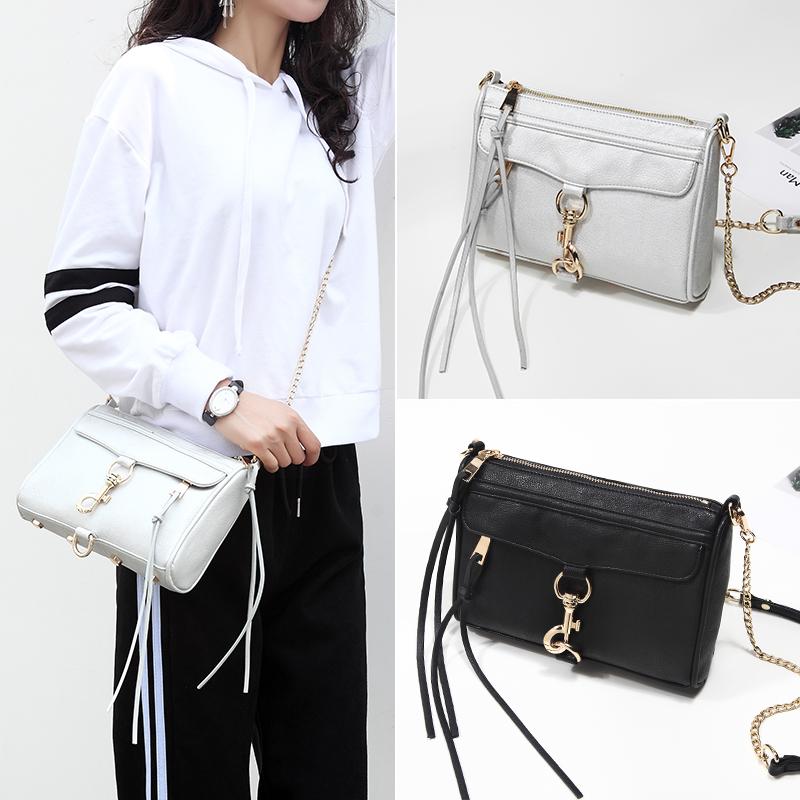2021 spring and summer new womens bag Single Shoulder Bag Messenger Bag tassel chain bag versatile locomotive Bag Mini Bag