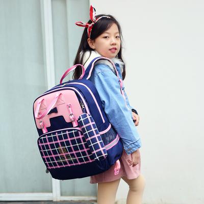 6-12周岁减负护脊3-5女孩儿童书包
