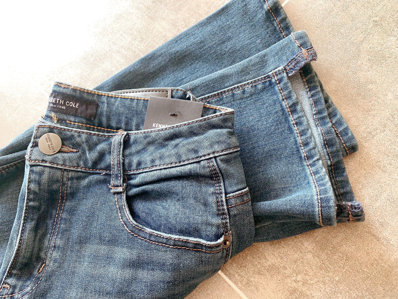 韩国贵货。最舒服的牛仔裤品牌女款微喇叭