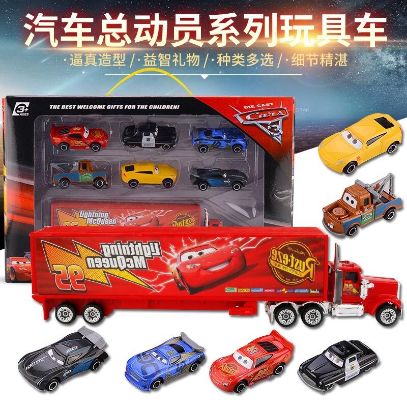 Car story toy car McQueen Batman car story toy car set boy toys