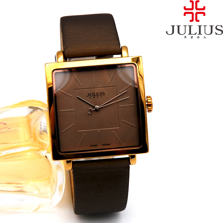 Poly time watch new fashion square plate simple womens watch belt watch neutral fashion watch ja-354