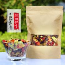 果粒茶巴黎香榭花果茶水果沙拉水果茶新货果粒茶500g包邮