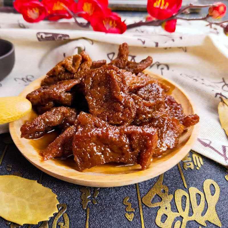 卤汁豆腐干苏州无锡特产豆腐干清真熟食豆制品素食甜品卤味小吃