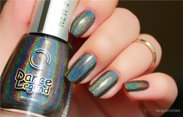 Russia Dance Legend New Prism prism Ling mirror laser stone gray brown nail polish 2