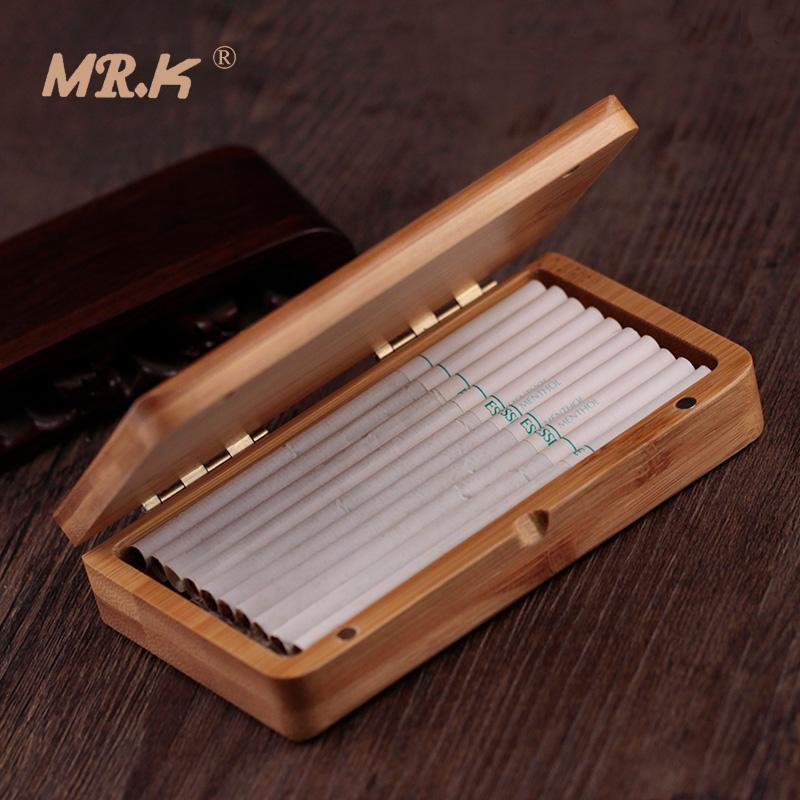 满142.00元可用100元优惠券mr.k个性定制手工细烟磁铁竹木烟盒