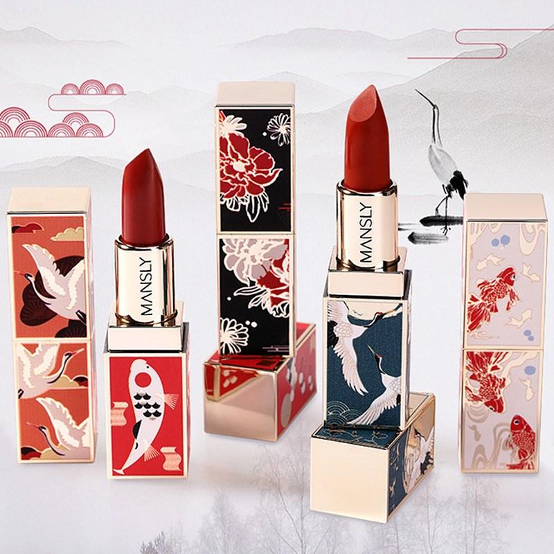 限3000张券故宫口红联名限量版中国风学生七夕情人节送女友生日礼物特别实。