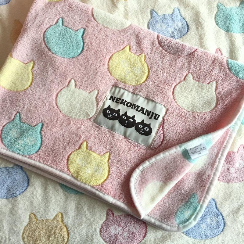 Япония китти одеяла кондиционер одеяло весна тонкий белый летом ребенок шерстяные одеяла ребенок крышка одеяло вздремнуть одеяло тележки одеяла