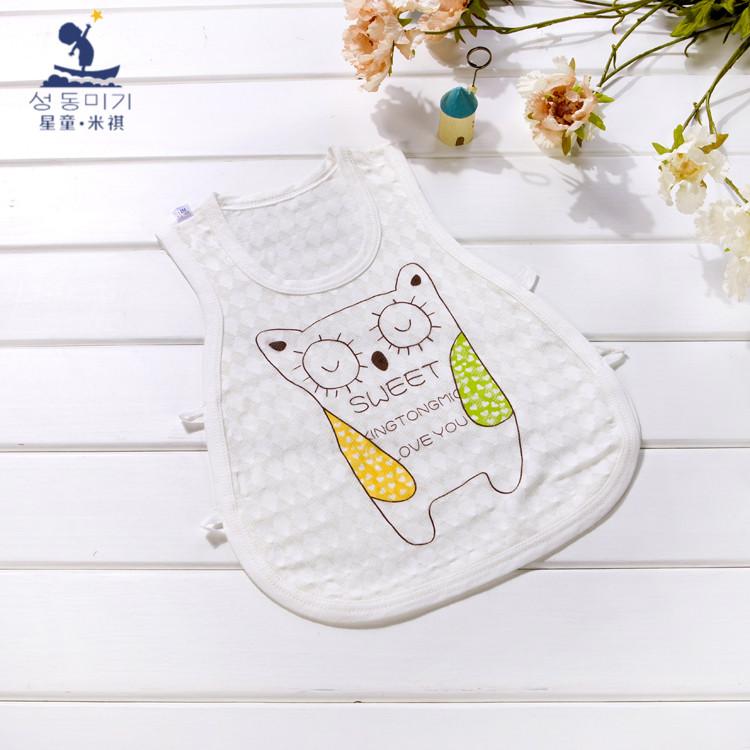 夏季婴儿背心无袖透气背心童装纯棉琵琶衫儿童衣服婴儿小背心薄款
