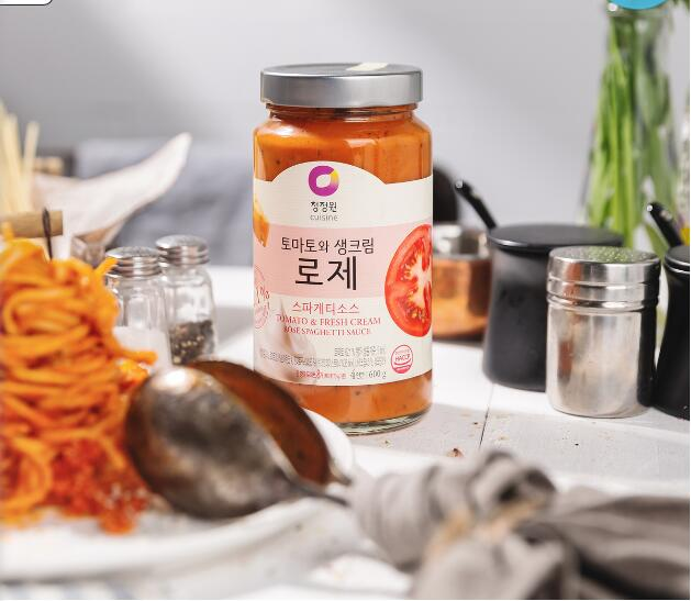 On April 20, 21, two bottles of spaghetti sauce seasoning cream 600g for four people