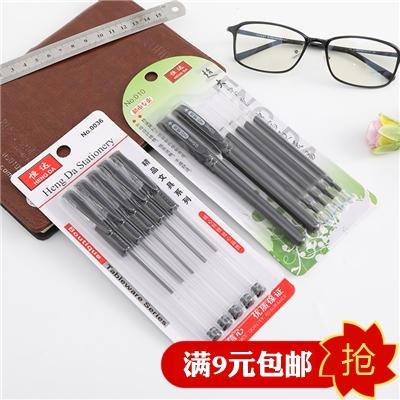 中性笔批发水性笔E585黑色0.5MM子弹头笔芯包邮水笔文具签字笔