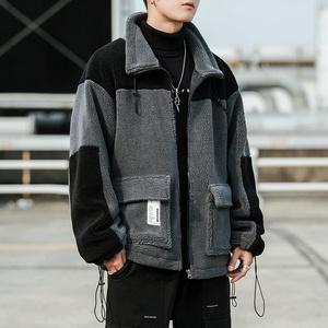 2019冬新款寬松棉衣男士羊羔毛面料外套韓版休閑棉襖潮DS600T
