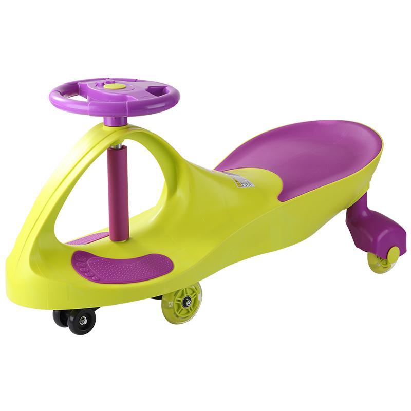 好娃娃兒童扭扭車寶寶玩具車1~3歲溜溜車搖擺妞妞車靜音輪帶音樂