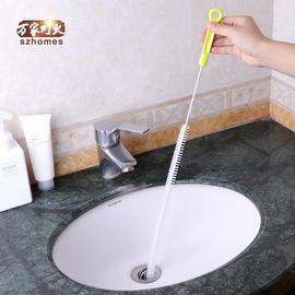 管道疏通器卫浴水池厨房通下水道神器地漏头发毛发清理防堵塞工具