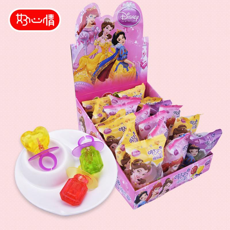 迪斯尼公主奶嘴水果钻石圣诞棒棒糖热销57件有赠品
