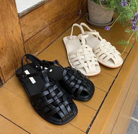 Korea 906 studio buys new lady flat heel sandals 3056 of 2021 summer