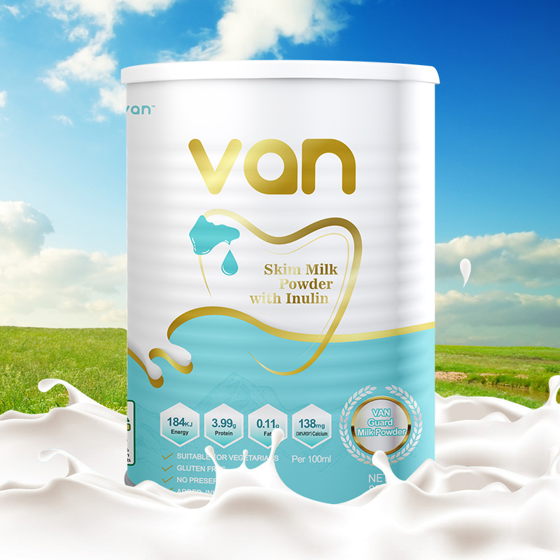 Van Australian imported milk powder for adults and young students supplement calcium, defatted and high calcium adult milk powder 800g / can