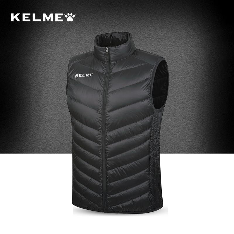 Kelme карта ваш прекрасный движение под жилет мужчина зима обучение жилет куртка аутентичные новые модель жилет