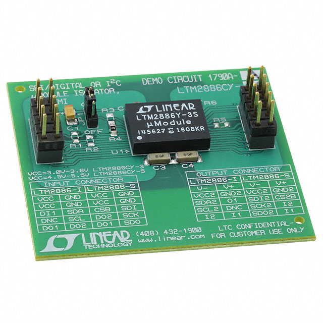 DC1790A-A DEMO BOARD FOR LTM2886-3S
