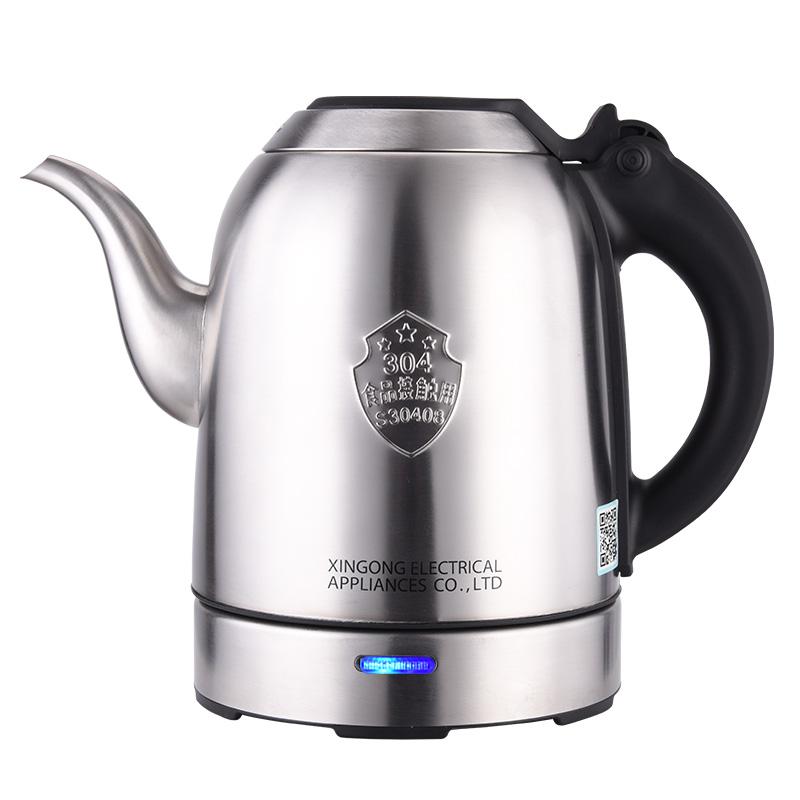 Seko/新功 N91恒温电热水壶家用自动断电烧水壶大容量不锈钢水壶