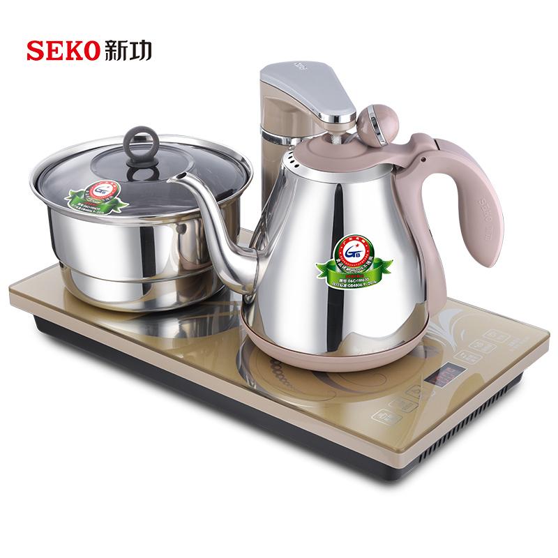 Seko/新功 G6全自动上水电热水壶套