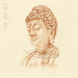 阿弥陀佛佛像摆件居家供奉挂画随身接引三宝佛西方三圣装饰品礼物