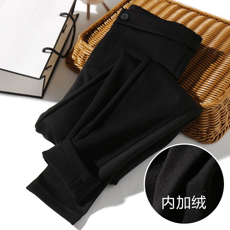 复合加绒,一条能过冬!超赞版型,显瘦修腿型!超高腰基础小脚裤