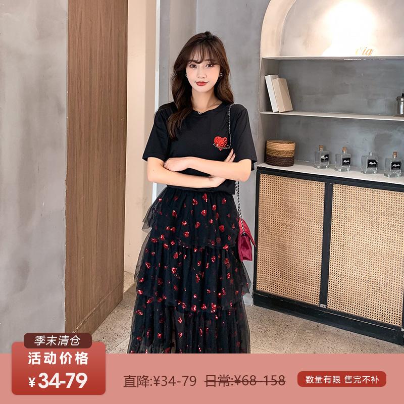 中國代購 中國批發-ibuy99 ������������ 清仓34-79元 直降34-79数量有限 售完不补五季家大码女装显瘦套装