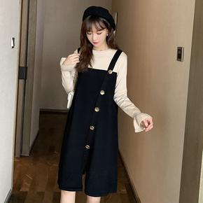 五季家胖mm连衣裙显瘦遮肉秋冬新款洋气时尚休闲大码长裙减龄长袖