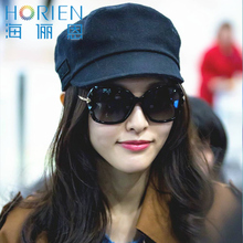 Hai Li en sunglasses, female polarizer, big frame, round face, sunglasses, Tang Yan, the same sunglasses 6312