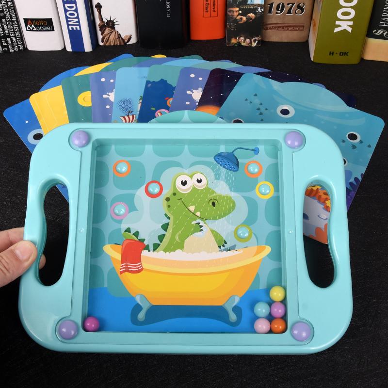 儿童专注力训练玩具平衡滚珠掌上走珠迷宫3-6岁男女孩益智游戏