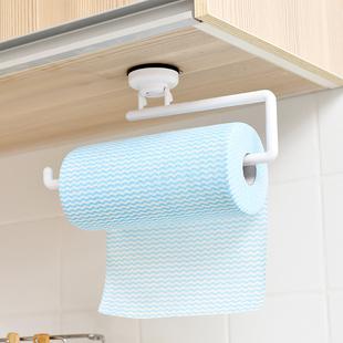 日本厨房纸巾架专用纸橱柜挂架放卷纸的收纳免打孔餐巾挂钩壁挂式