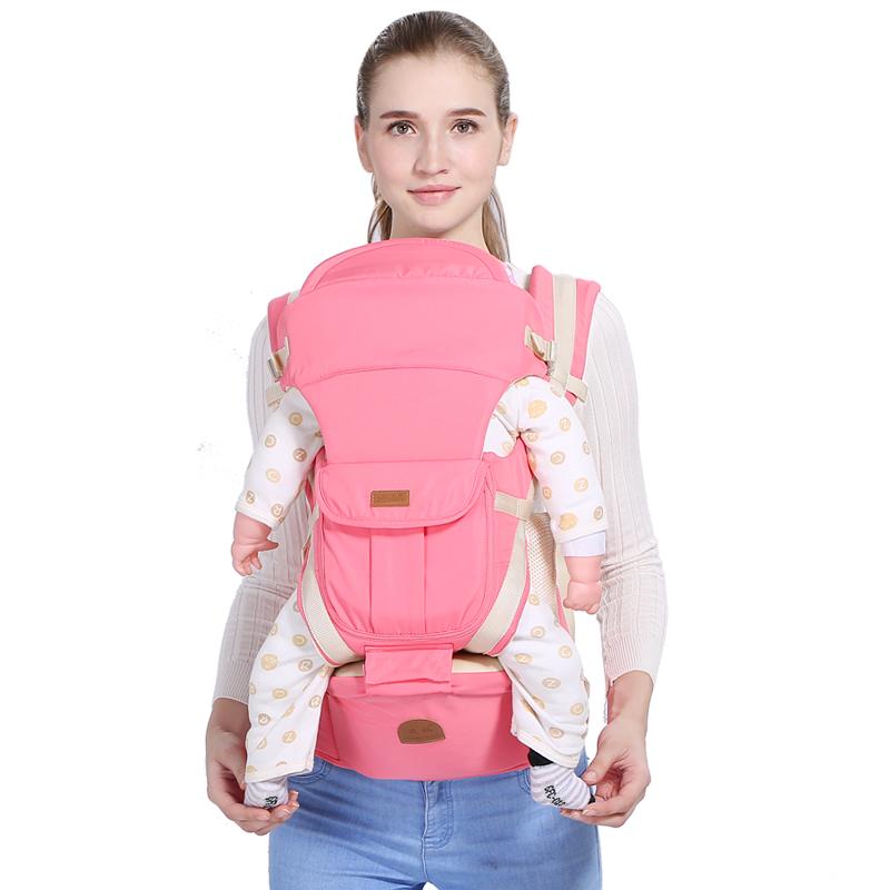 婴儿背带腰凳前后两用多功能轻便宝宝前抱式外出简易抱娃神器四季