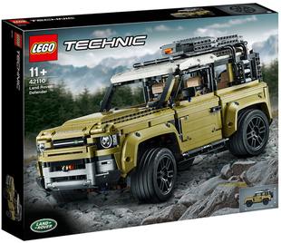 2019款乐高LEGO 42110科技系列机械组路虎卫士越野车儿童益智玩具