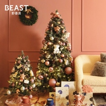 The BEAST beast Pie Light pig Pink Simulation Christmas tree