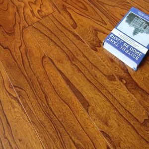 多层实木复合地板锁扣榆木浮雕15家用复合木地板环保地暖厂家直销