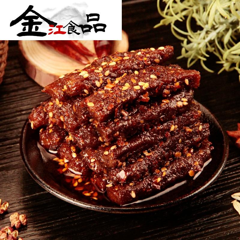 香辣猪肉条80g 蜀道香四川特产麻辣味办公室零食小吃肉脯休闲食品