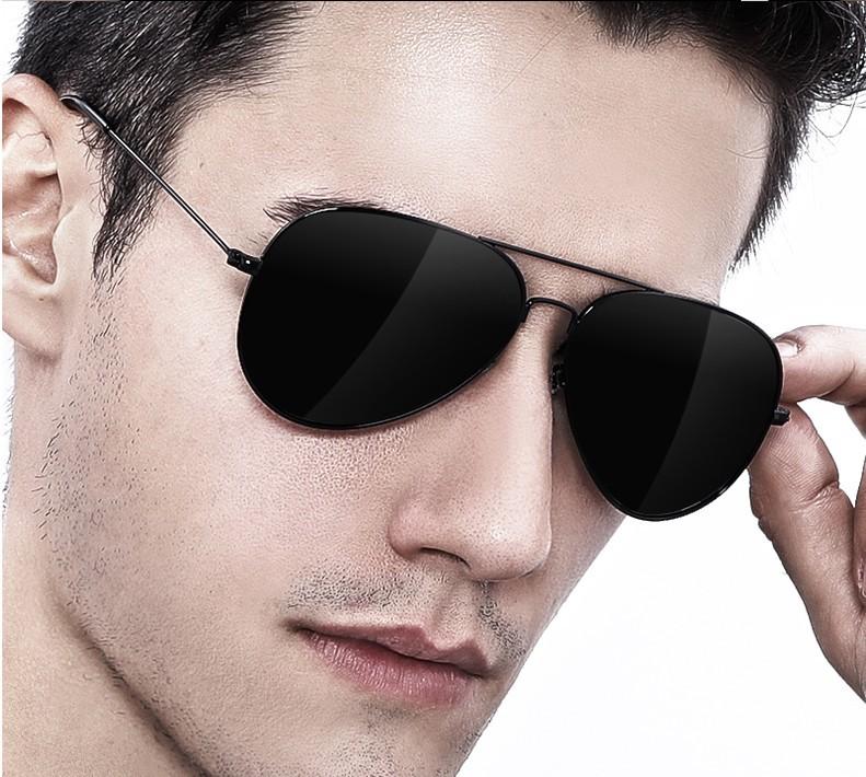 Glass lens sunglasses driver driving toad glasses eyes anti ultraviolet Polarized Sunglasses mens fishing glasses