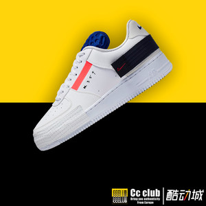 nike air force 1af1半透明男女板鞋