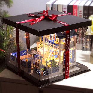 新款成品小屋礼盒(仅随商品购买)礼盒包装袋