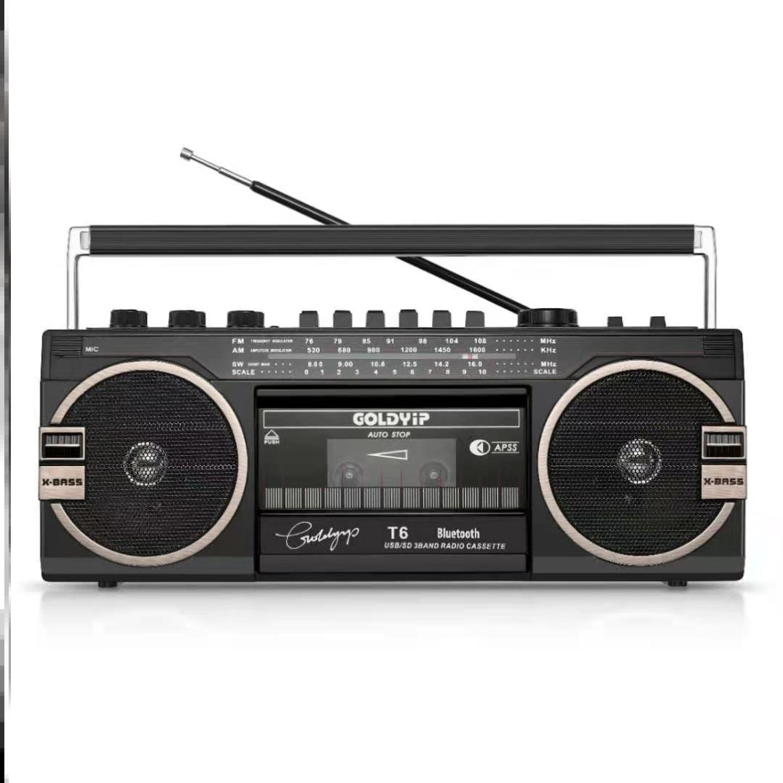 80年代磁带播放机老式录音机复古怀旧收音机卡带小型播放器循环放 Изображение 1