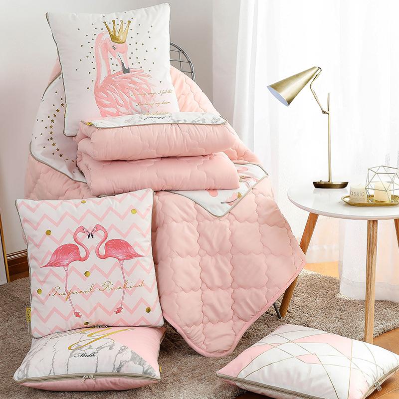 抱枕被子两用汽车载折叠靠垫枕头三合一空调多功能午睡定制办公室