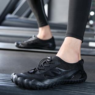 沙滩鞋 健身房跑步机专用鞋 女速干涉水浮潜鞋 男瑜伽综合训练运动鞋